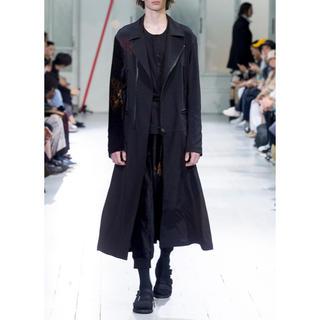 ヨウジヤマモト(Yohji Yamamoto)のダブルライダースロングフレアドレス ヨウジヤマモト  新品未使用(ライダースジャケット)