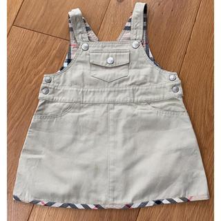 バーバリー(BURBERRY)のバーバリー BURBERRY ジャンパースカート 80cm(スカート)