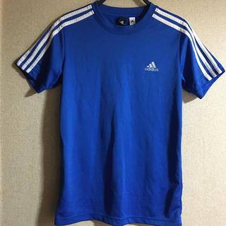 アディダス(adidas)のadidas アディダス Tシャツ 三本ライン(Tシャツ/カットソー(半袖/袖なし))