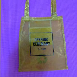 OPENING CEREMONY - opening ceremony メッシュトートバッグ