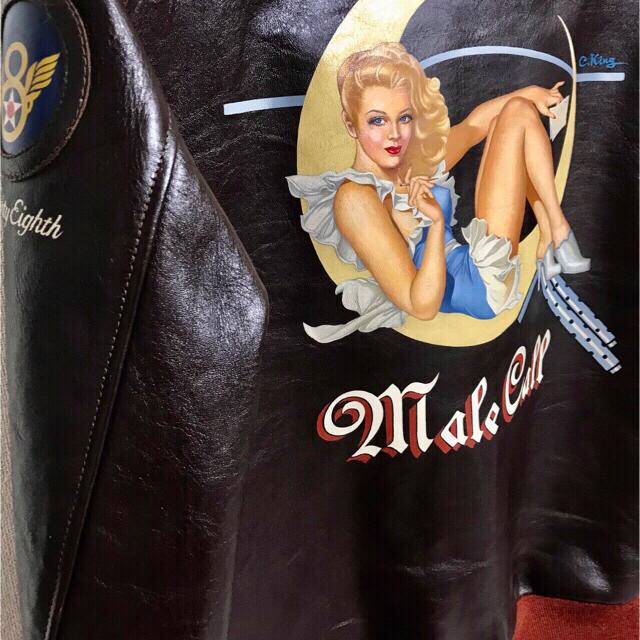 THE REAL McCOY'S(ザリアルマッコイズ)のTHE FEWフライトジャケットa2 メンズのジャケット/アウター(フライトジャケット)の商品写真