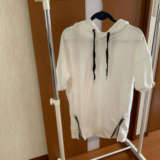 イング(INGNI)のチュニック(裾ZIPパーカー袖口リブチュニック)(パーカー)
