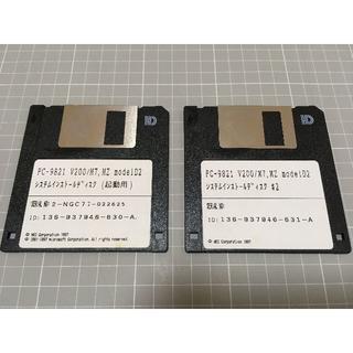 NEC - PC-9821 システムインストールディスク