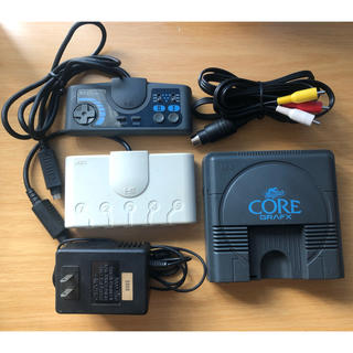 NEC - 動作確認済 PCエンジン コアグラフィックス セット