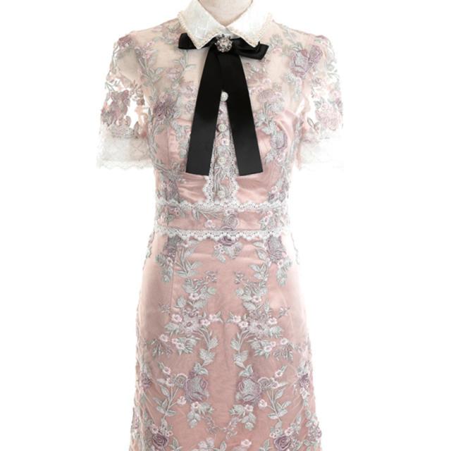 ROBE(ローブ)のROBE DE FLEURS ワンピース レディースのフォーマル/ドレス(ミニドレス)の商品写真