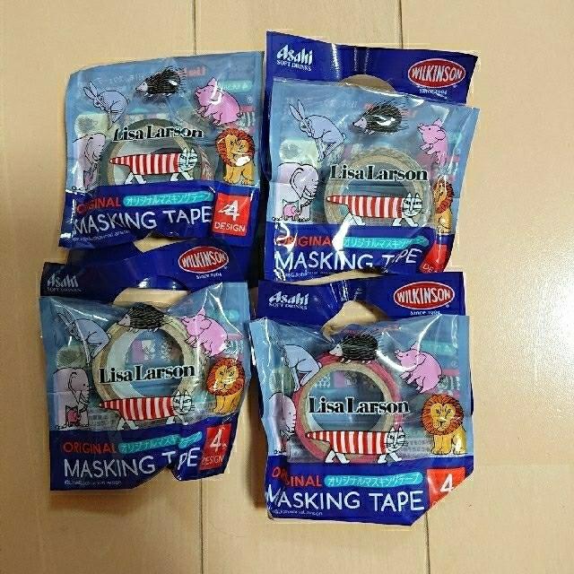 Lisa Larson(リサラーソン)のリサラーソン  新品 マスキングテープ 非売品 インテリア/住まい/日用品の文房具(テープ/マスキングテープ)の商品写真