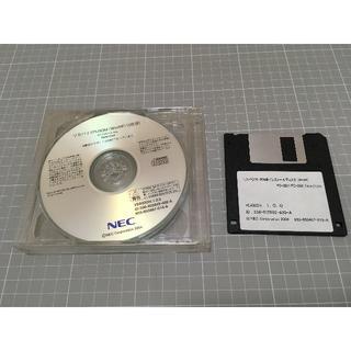 エヌイーシー(NEC)のFC-28V FC-20X リカバリフロッピー+CD-ROM3枚組(PC周辺機器)