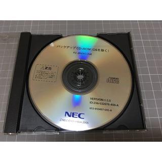 エヌイーシー(NEC)のFC-28V FC-20X用のバックアップCD-ROM(PC周辺機器)