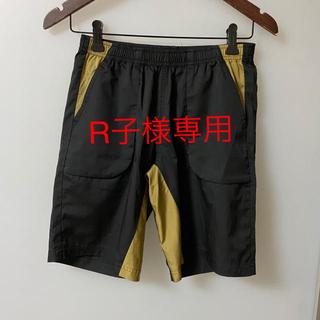 ミズノ(MIZUNO)のハーフパンツ MIZUNO ミズノ Sサイズ 黒 ブラック ゴールド(ハーフパンツ)