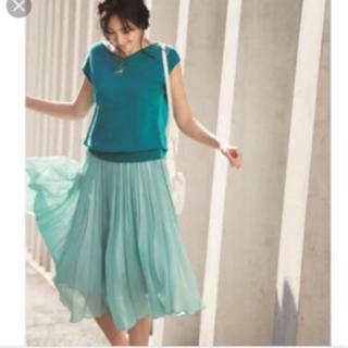 ジャスグリッティー(JUSGLITTY)のジャスグリッティ  プリーツスカート ピンク(ひざ丈スカート)