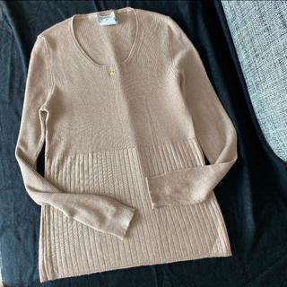 シャネル(CHANEL)のCHANEL カシミヤセーター  シルクセーター 42サイズ(ニット/セーター)