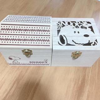 SNOOPY - 値下げ ♡   スヌーピー 木箱