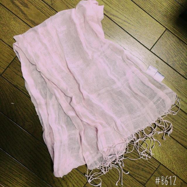 MUJI (無印良品)(ムジルシリョウヒン)の春物♪ストール レディースのファッション小物(ストール/パシュミナ)の商品写真
