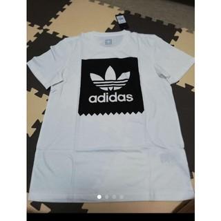 オリジナル(Original)の。新品タグつきadidas トレフォイル メンズTシャツ M(Tシャツ/カットソー(半袖/袖なし))