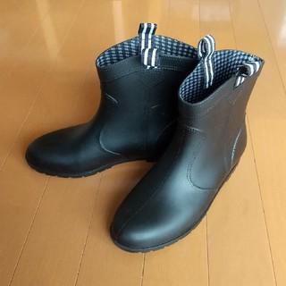 ショート丈レインブーツ レディース Lサイズ (24.5)(レインブーツ/長靴)