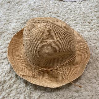 ムジルシリョウヒン(MUJI (無印良品))のMUJIの帽子(麦わら帽子/ストローハット)