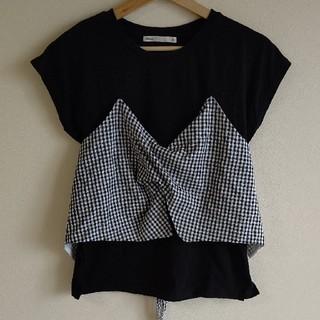 イッカ(ikka)のビスチェ付きTシャツ(Tシャツ(半袖/袖なし))