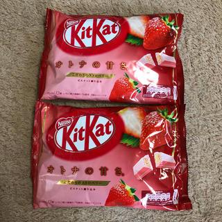 Nestle - キットカット こだわりのストロベリー 2袋