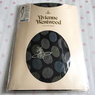 ヴィヴィアンウエストウッド(Vivienne Westwood)の新品 Vivienne Westwood ドット柄 タイツ(タイツ/ストッキング)