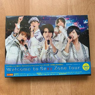 Sexy Zone - Welcome to Sexy Zone Tour(初回限定盤BD) Blu-r
