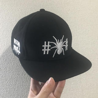 OFF-WHITE - 超希少 BEEN TRILL Spider Web スナップバックキャップ 美品