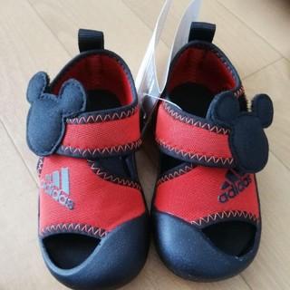 adidas - 新品タグつき adidas×ミッキーマウス サンダル 13.5cm