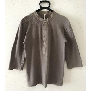 ダブルジェーケー(wjk)の* wjk js31 ヘンリーネック 7分袖 カットソーM(Tシャツ/カットソー(七分/長袖))