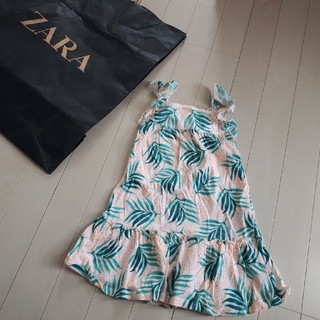 ザラ(ZARA)のZARA リゾートワンピース 100 新品(ワンピース)