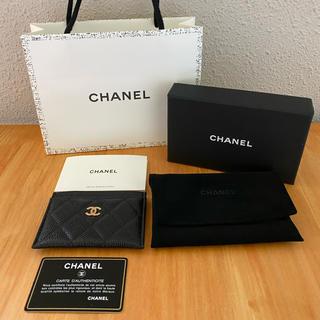 シャネル(CHANEL)の新品未使用 付属品有り CHANEL シャネル クラシックカードケース(名刺入れ/定期入れ)