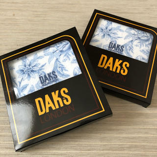 ダックス(DAKS)のDAKS ハンドタオル 新品未使用(タオル/バス用品)