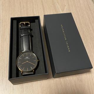 ダニエルウェリントン(Daniel Wellington)のダニエルウェリントン ブラック 40mm メンズ(腕時計(アナログ))
