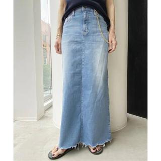 アパルトモンドゥーズィエムクラス(L'Appartement DEUXIEME CLASSE)のL'Appartement☆GOOD GRIEFDENIM LONG スカート(ロングスカート)