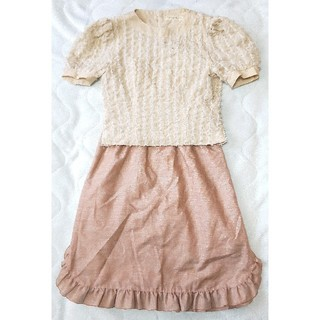 半袖 スカート セットアップ(セット/コーデ)