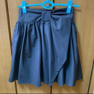 ロディスポット(LODISPOTTO)のLODISPOTTOビッグリボンふんわりスカート(ひざ丈スカート)