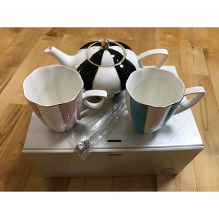 フランフラン(Francfranc)のフランフラン ティーカップ&ポットセット 未使用品(グラス/カップ)