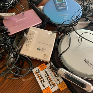 パナソニック(Panasonic)のCD  MD カセット プレイヤー(ポータブルプレーヤー)