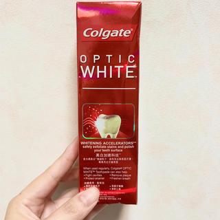 Colgate OPTIC WHITE 100g(歯磨き粉)
