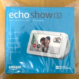 エコー(ECHO)の新品未開封 Amazon Echo SHOW 5 with Alexa(スピーカー)