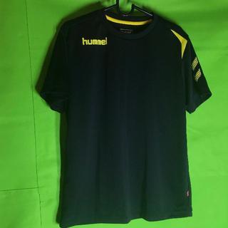 ヒュンメル(hummel)のhummel ヒュンメル 半袖ワンポイント Tシャツ S(Tシャツ/カットソー(半袖/袖なし))