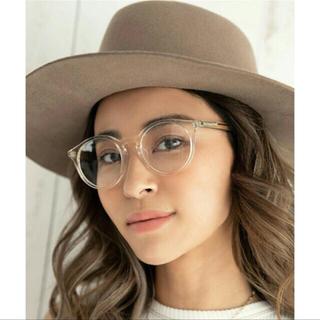 アリシアスタン(ALEXIA STAM)の Boston Frame Sunglasses clear ケース付き♡新品(サングラス/メガネ)