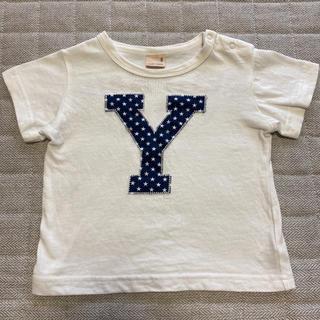 petit main - プティマイン アルファベット Y 半袖 Tシャツ 80