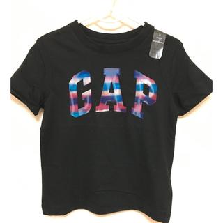 ベビーギャップ(babyGAP)のレア 希少 ベビーギャップ ❤️ 虹色ロゴ Tシャツ 110センチ(Tシャツ/カットソー)