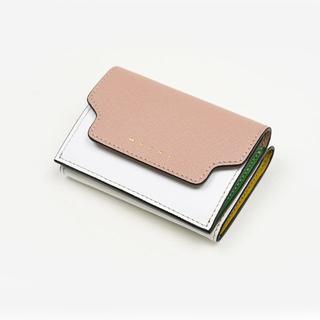 マルニ(Marni)のMARNI マルニ レディース 三つ折りミニ財布 (財布)