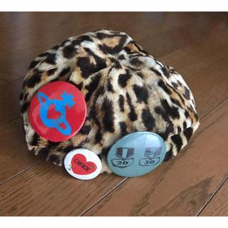 Vivienne Westwood - ヴィヴィアンウエストウッド レオパード 柄 ベレー帽