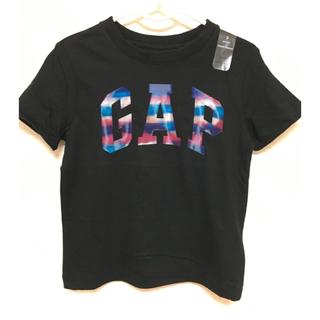 ベビーギャップ(babyGAP)のレア 希少 ベビーギャップ ❤️ 虹色ロゴ Tシャツ 100センチ(Tシャツ/カットソー)