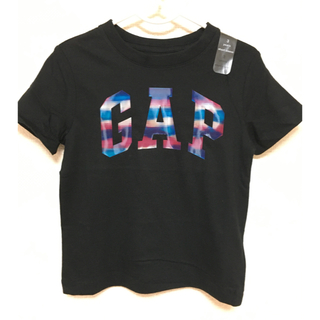 ベビーギャップ(babyGAP)のレア 希少 ベビーギャップ ❤️ 虹色ロゴ Tシャツ 105センチ(Tシャツ/カットソー)