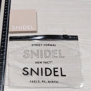 スナイデル(snidel)のスナイデル コスメセット ポーチ付き クリアポーチ 4点セット まとめ売り(コフレ/メイクアップセット)