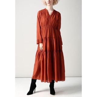 デミルクスビームス(Demi-Luxe BEAMS)のヌキテパ ワンピース ドレス(ロングワンピース/マキシワンピース)