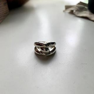 エルメス(Hermes)のHERMES トルサード ヴィンテージ リング 指輪(リング(指輪))