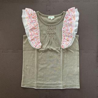 サンカンシオン(3can4on)の3can4on  ♡ フリルカットソー (Tシャツ/カットソー)
